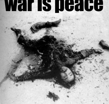 war is peace 1984 essays