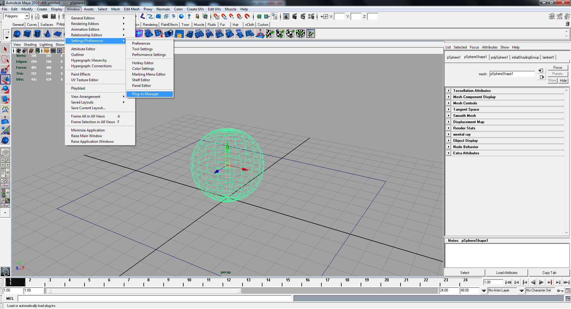 Quick Maya+Mental Ray instructions for doing ambient