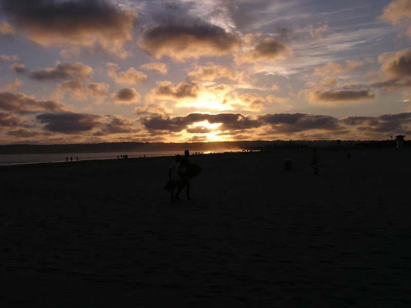P8010163 Imperial Beach Sunset